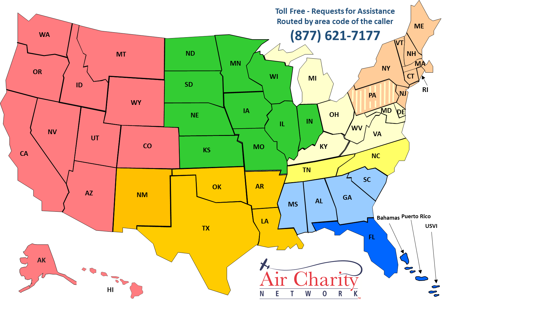 Request a Flight | Air Charity Network